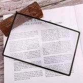 3 adet Büyüteç Kitap İşareti Büyütme 180X120mm 3X Düz PVC Büyüteç Levha Büyüteç Okuma Camı Kırtasiye Imi Malzemeleri