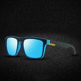 Мужчины в полной квадратной оправе HD Поляризованные UV Защита На открытом воздухе Солнцезащитные очки