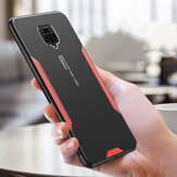 Bakeey dla Xiaomi Redmi Note 9S / Redmi Note 9 Pro Case Matte Metal + TPU Edge Shockproof Anti-Fingerprint ProTective Case Back Cover Nieoryginalny