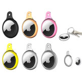 Bakeey Portable Plating TPU Frame Protective Cover Sleeve for Apple Airtags bluetooth Tracker