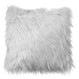 40x40 Faux Wool Fur Cushion Cover Fluffy Soft Plush Throw Pillow Case Home Decor