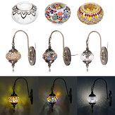 Retro török marokkói romantikus fali lámpa otthoni bár folyosó lámpatest lámpadekor 110-240V