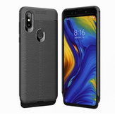 Bakeey™ Litchi Pattern Shockproof Soft TPU Back Cover Protective Case for Xiaomi Mi Mix 3 Non-original