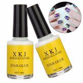 Witte lijm Nail Art Transfer Tips Lijm Galaxy Star Foil Sticker 16ml
