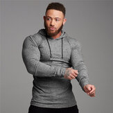 Muscle Fitness Men's Sports Suit Cotton Hoodies Men Sweatshirts Gym Training Hoodies Joggers Clothes Sweatpants