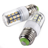 E27 LED-lampen 12V 3W 27 SMD 5050 Wit / Warm Wit Corn Light