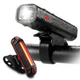 XANESBLS12650LMXPGLEDНемецкая стандартная байковая лампа 5 режимов USB аккумуляторная велосипедная передняя подсветка Tail Light Set