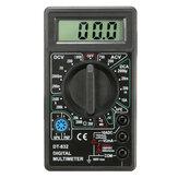 DANIU DT832 Digital LCD Amperímetro de Tensão Multímetro Ohm Função Zumbador com Sonda de Teste