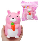 Carrot Rabbit Squishy 9*12.5cm Slow Rising With Packaging Collection Gift Soft Toy