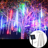 Waterdicht Solar Powered 50cm 8 Tubes LED Meteor Shower Regen Garden Tree HoliDay Light