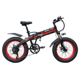 SMLRO S9 20in 48V 10Ah 500W Folding Electric Bike 35km/h Max Speed 50-60KM Mileage Range E Bike Mountain Bike