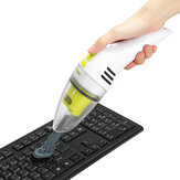 MECO Keyboard Cleaner Rechargeable Mini Vacuum Wet Dry Cordless Desktop Vacuum Cleaner for Cleaning Dust Hairs Crumbs Scraps for Laptop Piano Computer Car