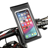 BIKIGHT Waterproof  Touch Screen Bike Phone Bag Phone Holder Up To 6 Inch Cycling Swimming Phone Pouch