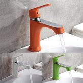 Huishoudelijk Veelkleurig Bad Keukentje Kraan Koud en Warm Water Kraan Groen Oranje Wit