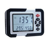 USB Carbon Dioxide CO2 Data Air Temperature Logger Humidity Meter Monitor LCD