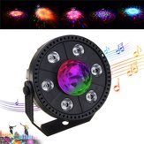 RGB LED Stage Light Stroboscoop Kristallen bol Party Club DJ Disco Atmostphere Licht AC90-265V