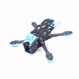 STEELE 3 154mm 3 Inch / STEELE 4 178mm Wheelbase 4 Inch Carbon Fiber Frame Kit 4mm Arm Thickness Support Vista Air Unit for RC Drone FPV Racing