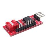 PCP8574 PCF8574T I / O для I2C Поддержка интерфейса порта IIC Каскадная плата расширения расширенного модуля Высокий низкий уровень Geekcreit для Arduino - про