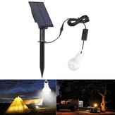 Portable Solar Panel Power LED Bulb Waterproof  Light Sensor Outdoor Camping Tent Fishing Emergency Lamp