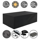 Tvird 242x162x100cm Patio Garden Outdoor Furniture Set Protector Cover Table Chair Waterproof Cover