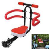 Schwarz / Rot Fahrradsitz Abnehmbarer klappbarer Sicherheitssitz Rutschfester Griff