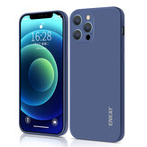 Enkay for iPhone 12 Pro Case Smooth Shockproof with Lens Protector Soft Liquid Silicone Rubber Back Cover Protective Case