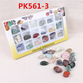 AU Natural Gemstones Stones Variety Collection Crystals Kit Mineral Geological Teaching Materials