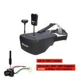 Eachine EV800D 5 Inch 800*480 FPV Goggles + TX06 NTSC 700TVL Mini FPV VTX-Camera All in ONE Combo