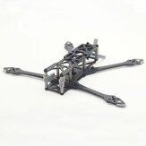 URUAV FORCE LR4 178mm 4 pouces Micro Kit de cadre de bricolage en Fiber de carbone à longue portée pour FPV Racing RC Drone