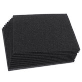 10PCS Acoustic Wall Panel Soundproof Foam Pads Car Studio Insulation Treatment 20x20cm