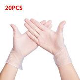 MIANDASHI 20 * Adet Tek Kullanımlık PVC BARBEKÜ Eldivenler Su Geçirmez Anti-enfeksiyon Güvenliği Eldivenler
