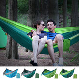 2 Person Double Hammock Hanging Bed Garden Swing Outdoor Camping Travel