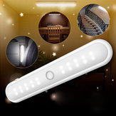 Portatile wireless 20 LED Cabinet Night Light Motion PIR Armadio sensore sotto lampada