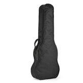 26 Inches Black Ukulele Bag Soft Case Bag Fot Guitar Musical Instruments