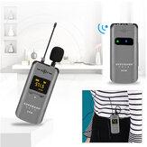 Superadd W-1 UHF vezeték nélküli mikrofonkészlet Bodypack adóval és mini újratölthető vevővel a Vlogging DSLR fényképezőgép mobiltelefonhoz