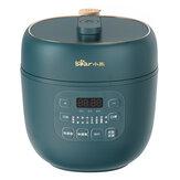 Panela de pressão Bear YLB-A20Q1 600 W 2L antiaderente revestimento liner multifunções Mini panela de arroz