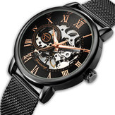 FORSING FSG-660G Mesh Steel Band Mechanical Watches