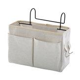 Подвесная прикроватная тумбочка Сумка Кровать, стол, полка, корзина, стойка, холст, корзина для хранения, общежитие, дом Органайзер