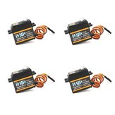 4 PCS Emax ES3054 17g 3.5 kg 0.13seg Metal Gear Digital Servo Para Avião RC (ES3154 Versão Atualizada)