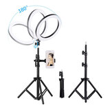 10 Inch Selfie Ring Light Kit 3 Lighting Modes USB Powered with Phone Holder
