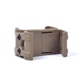 XANES® Magazine Coupler Link Clip Pouch Magazine Mag Coupler Speed Loader paralelo Conector para AK / M4 / PMAG Outdoor Hunting