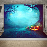 5x7FT Halloween Graveyard Studio Photography Background Backdrop Photography Prop