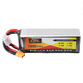 ZOP Power 11.1V 7500mAh 35C 3S Lipo البطارية XT60 Plug for RC Quadcopter Car