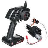 WPL 3CH Geschwindigkeits-Änderungs-Getriebe und Radiosender für B1 B24 B16 C24 1/16 4WD 6WD RC Auto