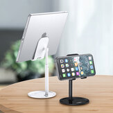 [Обновленная версия] TOPK D02 Телескопический настольный держатель для планшета для мобильного телефона Подставка для iPad Air для iPhone 12 XS 11 Pro POCO X