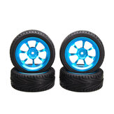 A-alloy Rims & Tires RC Car Wheels Untuk 1/18 WLtoys A959-B A979-B A959 A969 A979 K929