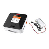 ISDT Q6 Nano BattGo 200W 8A Lipo Battery Charger With Hobbyporter 24V 16.7A 400W Power Supply Adapter EU Plug