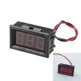 3pcs 0.56 polegadas vermelho ac70-500v mini voltímetro digital voltagem do medidor de painel medidor de voltagem LED medidor de exibição
