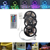 15M SMD3528 Non-Waterproof RGB 900 LED Kit Light Strip + 44 tasti Controller + cavo Connettore DC12V