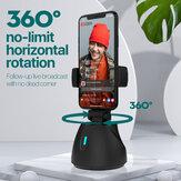 Smartphone Gimbal 360-Grad-Drehung Auto-Tracking-Shooting-Inhaber Selfie Vlog Live-Streaming Zubehör für Broadcaset-Montage Unterstützung Bluetooth Kompatibel mit allen Apple- und Android-Handys